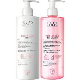 Svr topialyse crème 400ml + gel lavant 400ml offert - svr -223081