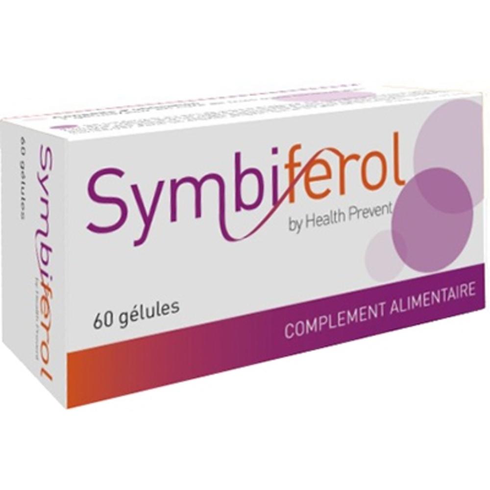 Symbiferol - 60 Gélules - Health Prevent -205820