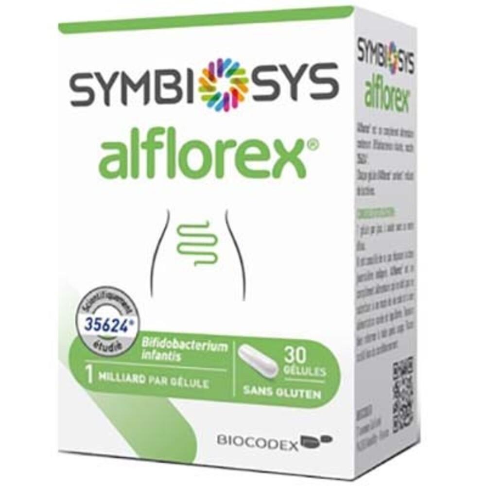 Symbiosys alflorex 30 gélules - biocodex -214242