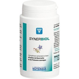 Synerbiol 500mg 50 capsules - divers - nutergia -189640