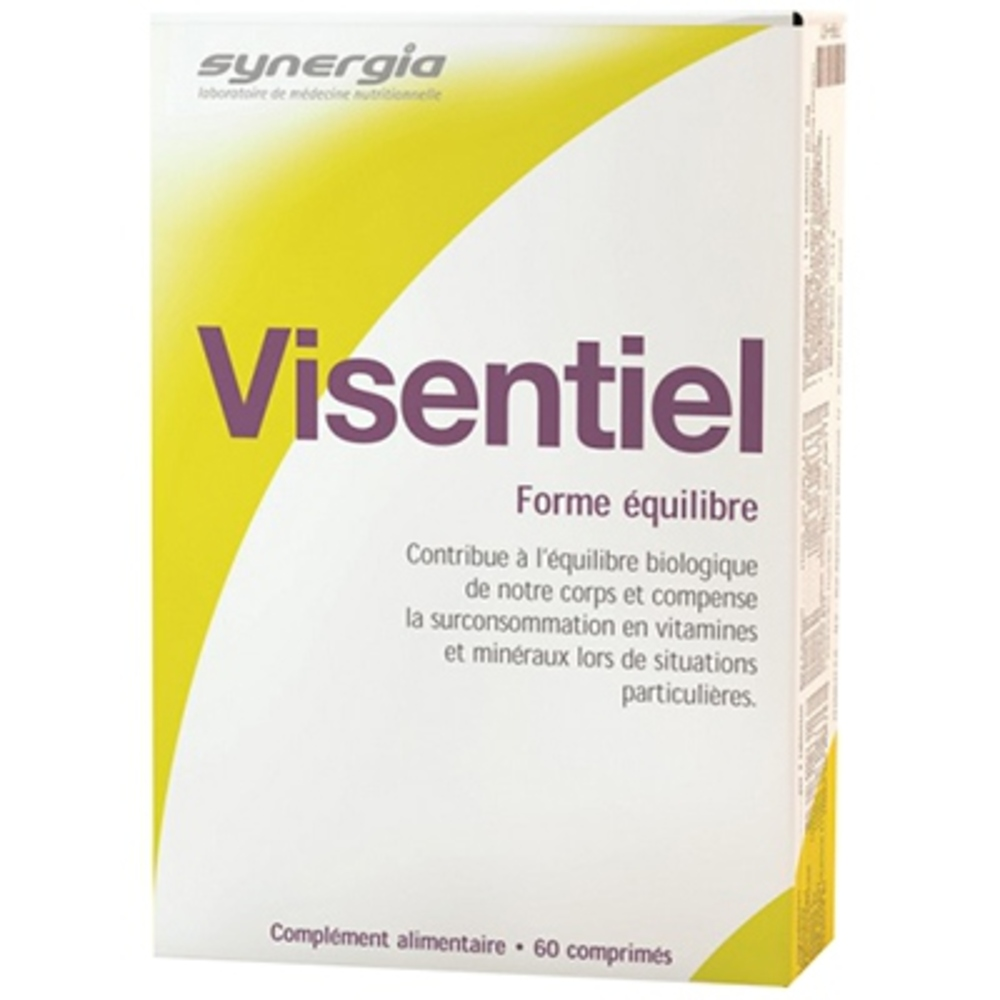 Synergia visentiel - 60 comprimés - synergia -206595