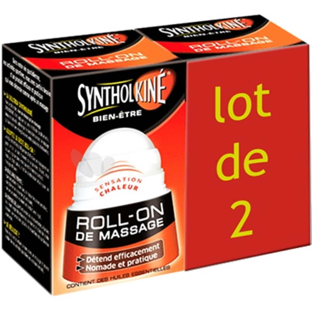 Syntholkine roll-on de massage - 2x50ml - synthol -212499