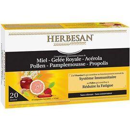 Système immunitaire 20 ampoules - herbesan -226795