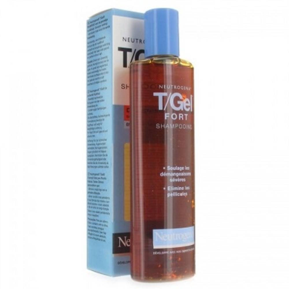 T/gel fort shampooing - 250ml - 250.0 ml - antipelliculaires - neutrogena -3086