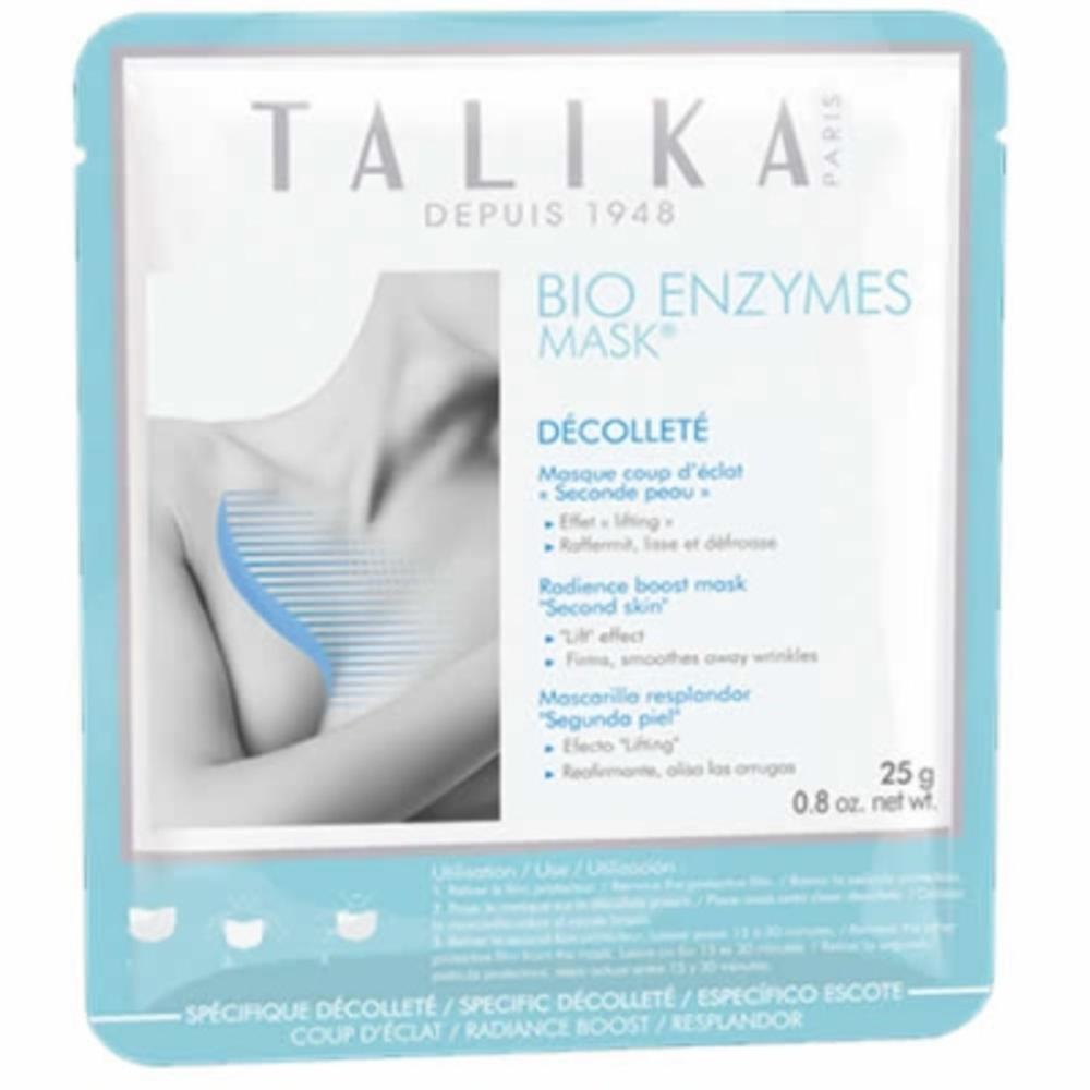 Talika bio enzymes mask masque décolleté coup d'eclat - talika -205679
