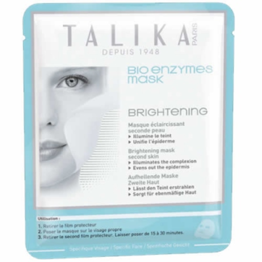 Talika bio enzymes mask masque éclaircissant - talika -205678