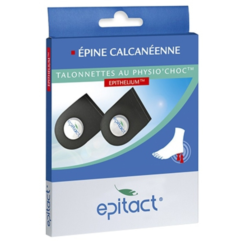 Talonnettes Physio Choc Taille L - Epitact -146048