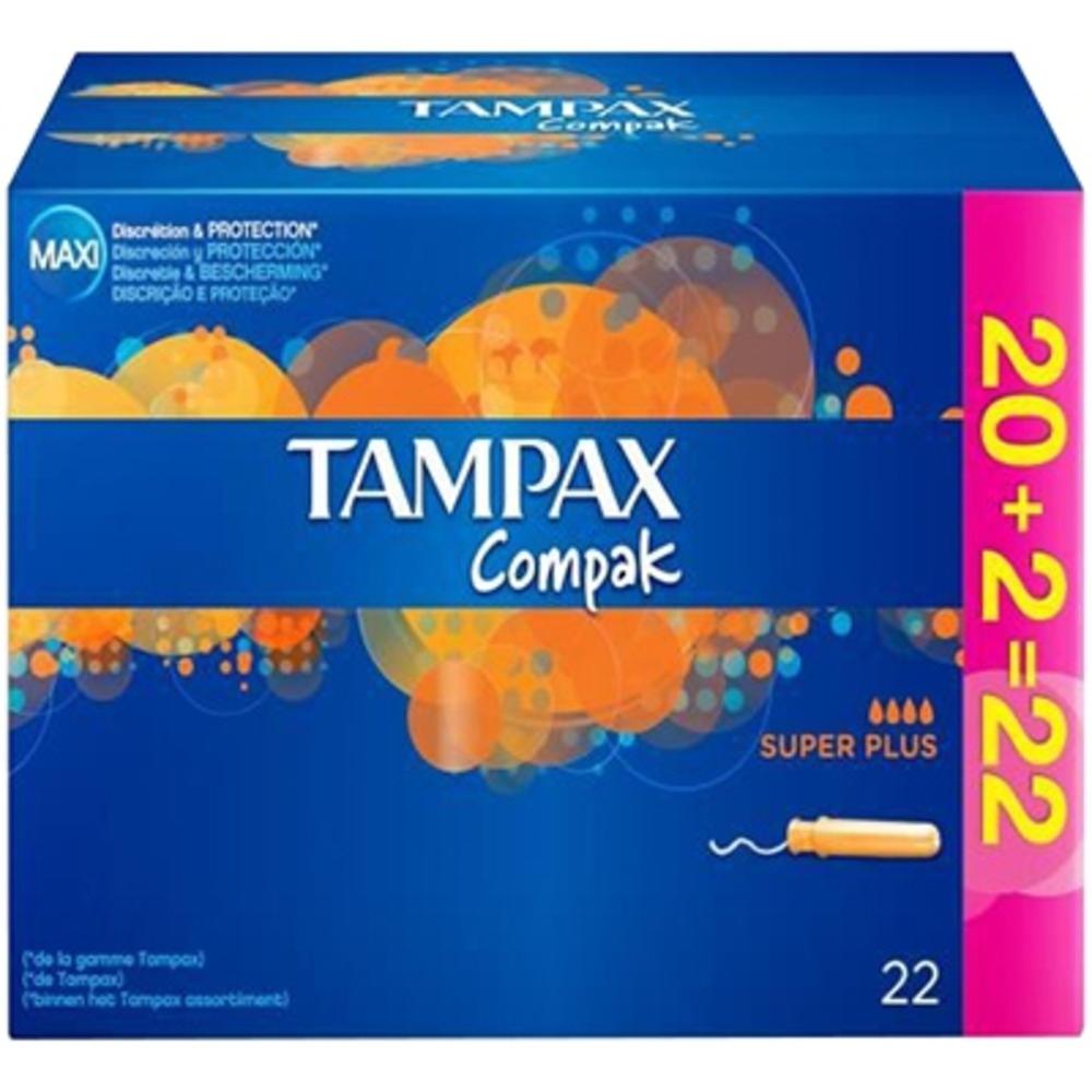 Tampax compak super plus - promo - tampax -203195