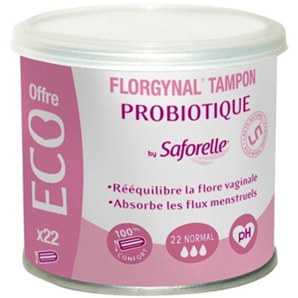 Tampon Probiotique - 22 Tampons - 22.0 unites - Florgynal -139126