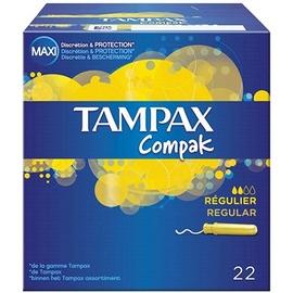 Tampons compak régulier x22 - tampax -206104