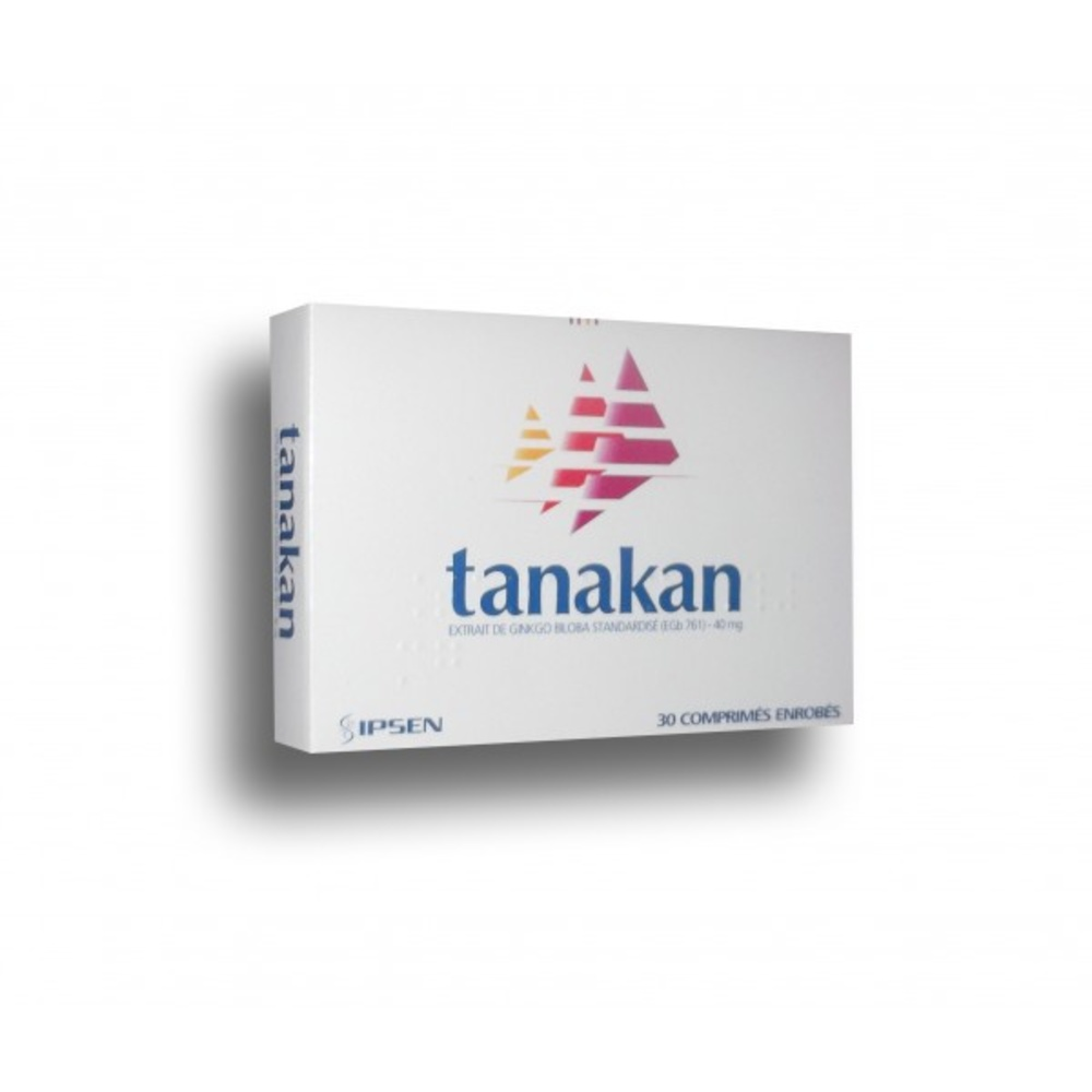 Tanakan - 30 comprimés - ipsen pharma -194313
