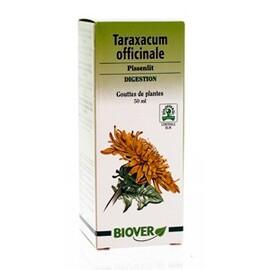 Taraxacum officinalis (pissenlit) bio - 50.0 ml - gouttes de plantes - teintures mères - biover Facilite la digestion, embellit la peau-8994