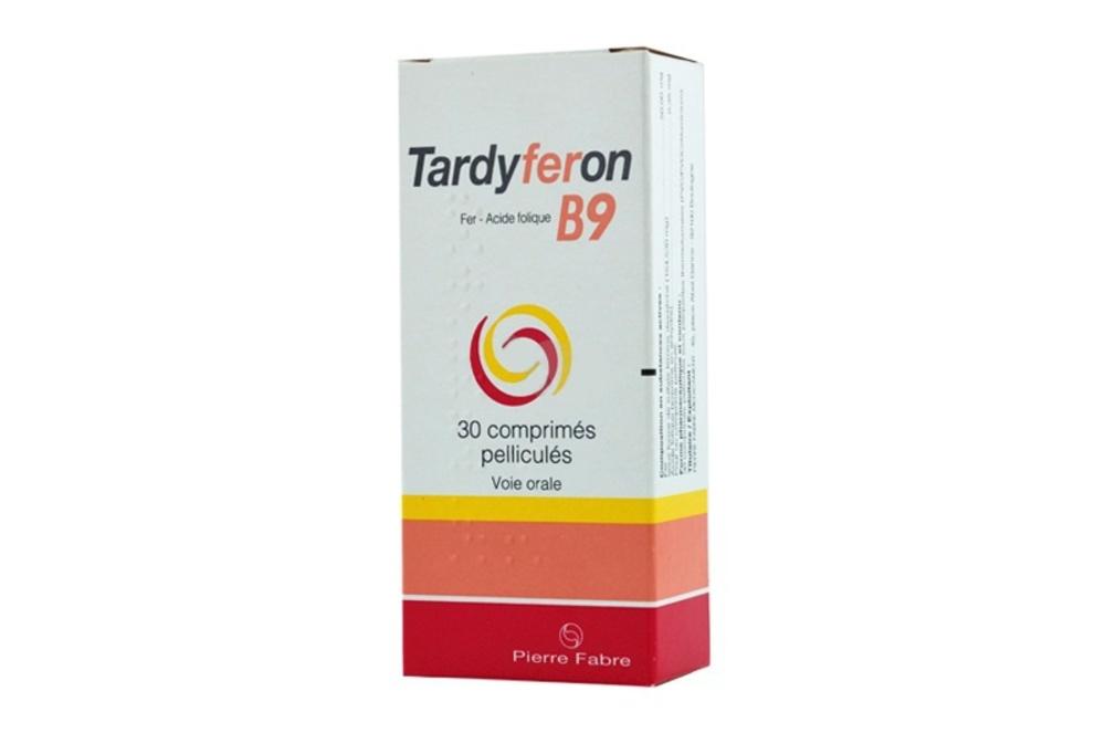 Tardyferon b9 - 30 comprimés pelliculés - pierre fabre -193973