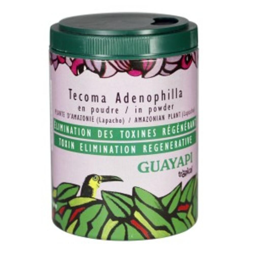Tecoma adenophylla (lapacho) poudre - 50.0 g - compléments alimentaires en poudre et gélules - guayapi  Excellent dépuratif-9292