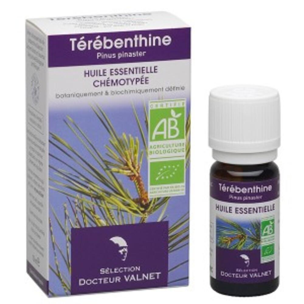 Térébenthine bio - 10.0 ml - les huiles essentielles bio - dr. valnet Articulations - muscles - bronches-15172
