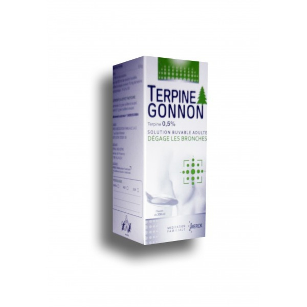 Terpine gonnon 0,5% - 200.0 ml - merck -192938