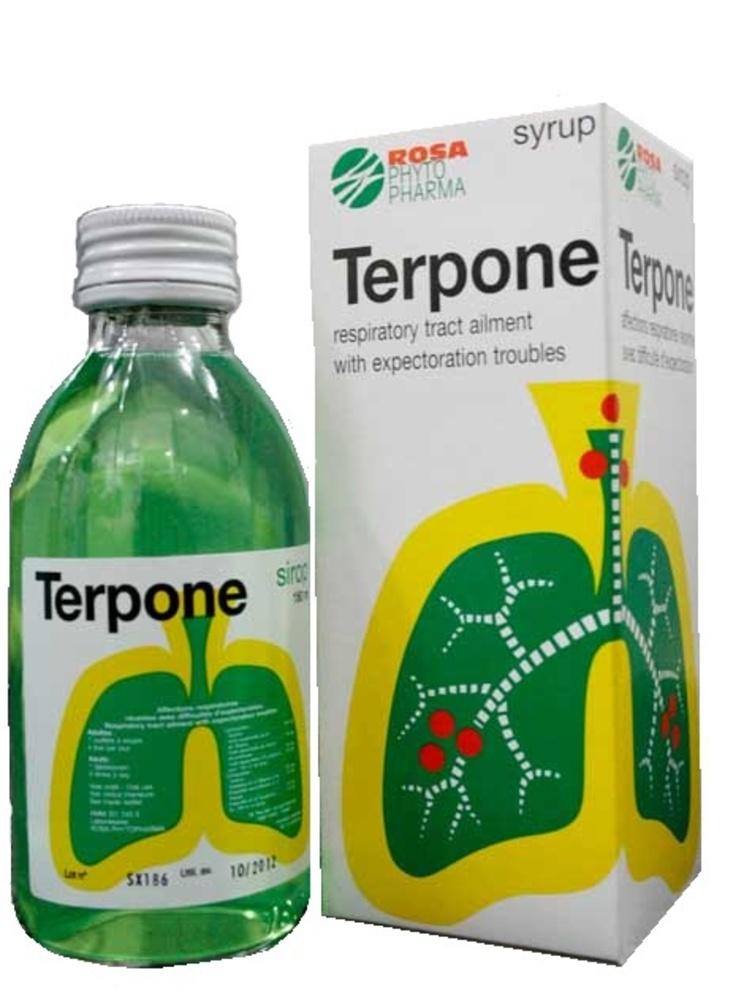 Terpone sirop - 180ml - rosa phytopharma -206928