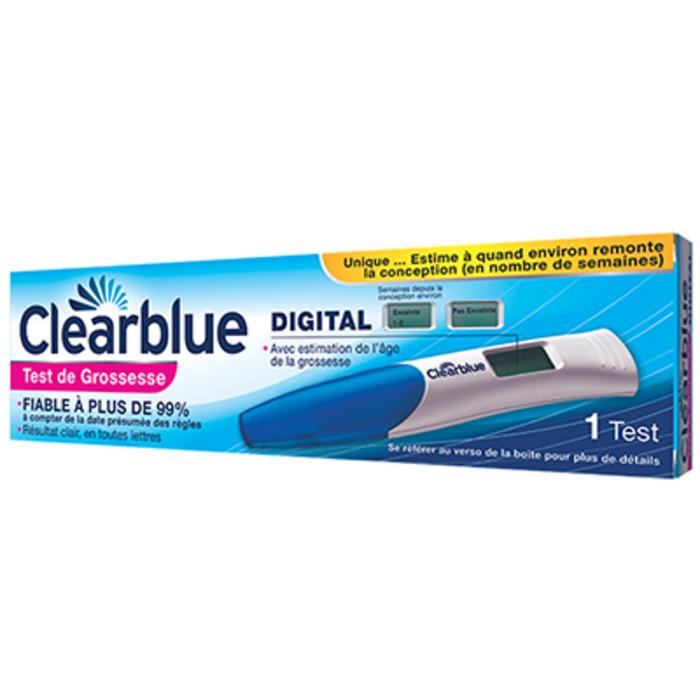 Test de grossesse digital Clearblue-145797