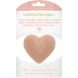 The konjac sponge co eponge visage argile rose coeur - the konjac sponge company -204818