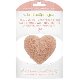 The konjac sponge co eponge visage argile rose coeur - the konjac sponge company -204818