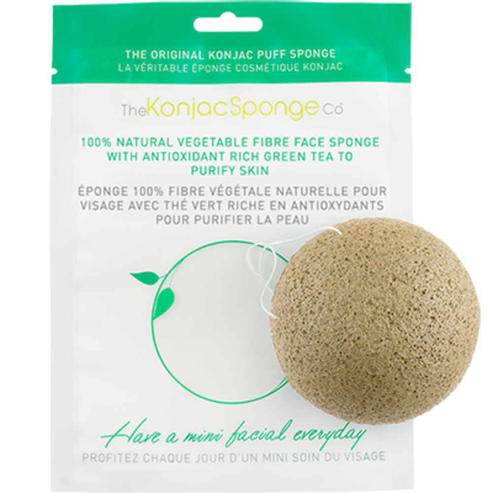 The konjac sponge co eponge visage thé vert - the konjac sponge company -204824