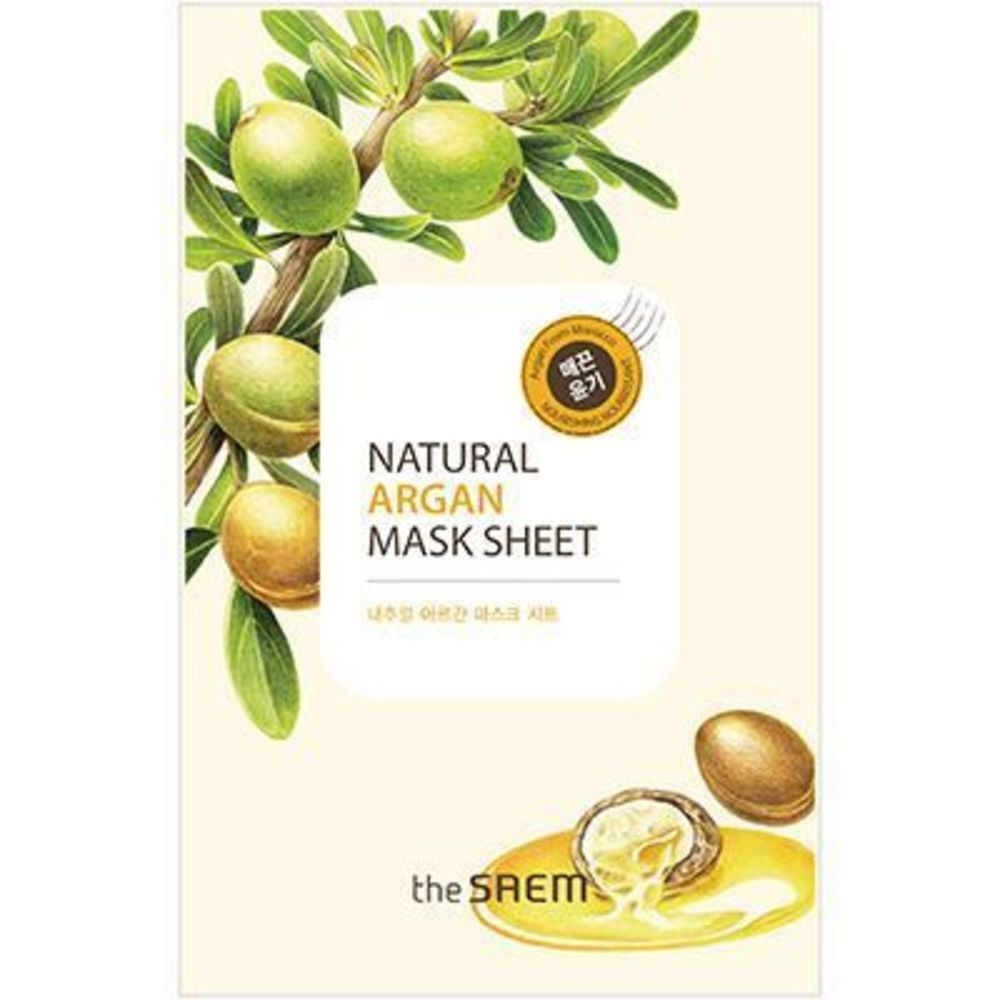 The saem masque visage à l'argan nourrissant The saem-220695