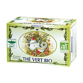 Thé vert - 20.0 unites - tisanes simples bio - romon nature -16199