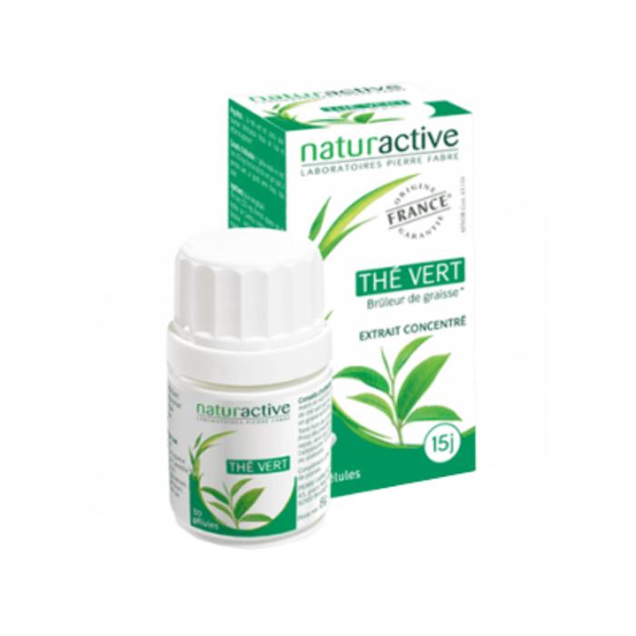 Thé vert 30 gélules Naturactive-226714