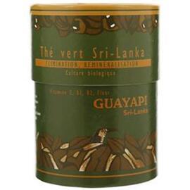 Thé vert bio - 100.0 g - thés et  maté - guayapi Le thé raffiné qui reminéralise et facilite l'élimination-9299