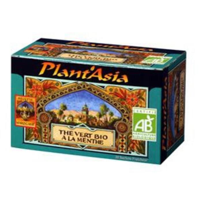 Thé vert menthe max havelaar Plant'asia-16220