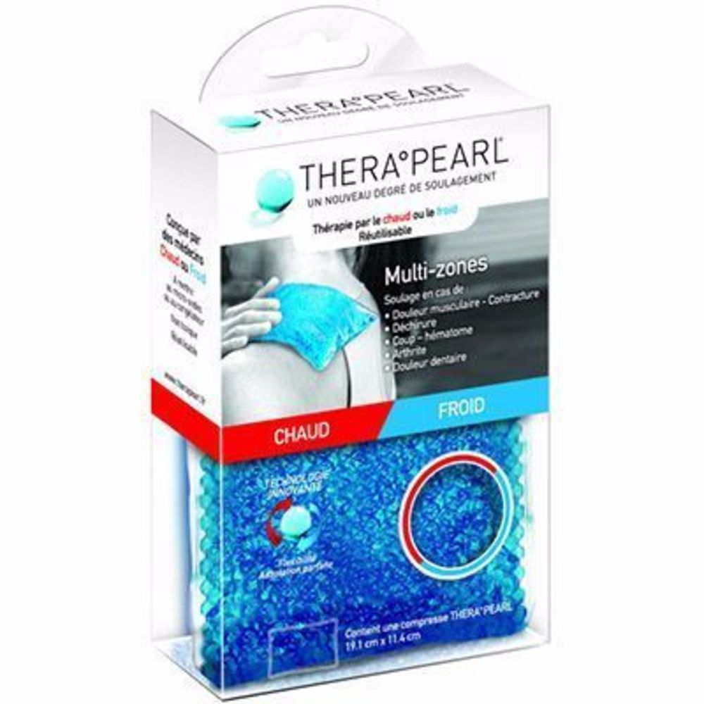 Therapearl coussin thermique multi-zones - 19,1cm x 11,4cm - therapearl -190417
