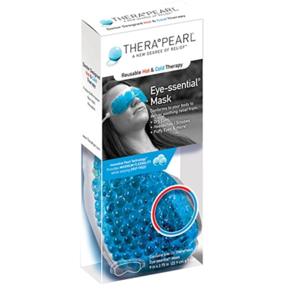 Therapearl masque oculaire - 22,9cm x 7cm - therapearl -147712