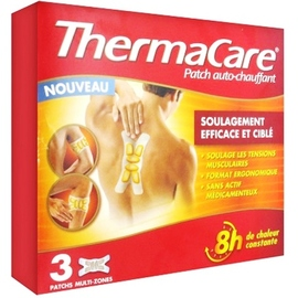 Thermacare patch auto-chauffant multi-zones - thermacare -201080