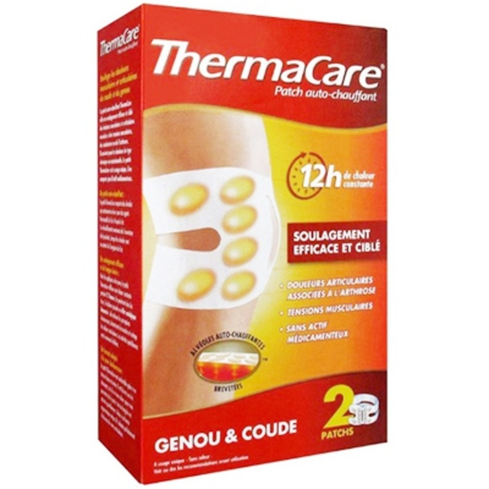 Thermacare patch chauffant genou & coude - pfizer -197281