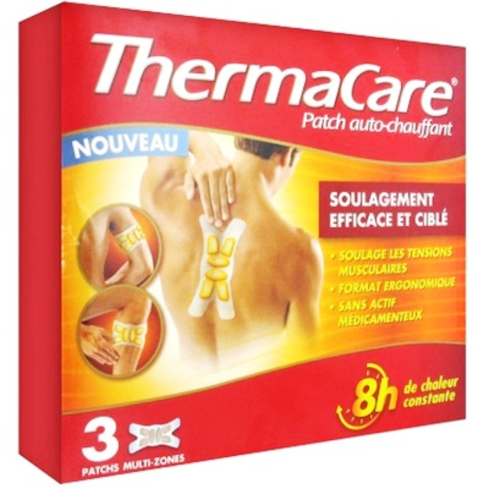 Thermacare patch chauffant multizone - pfizer -201080