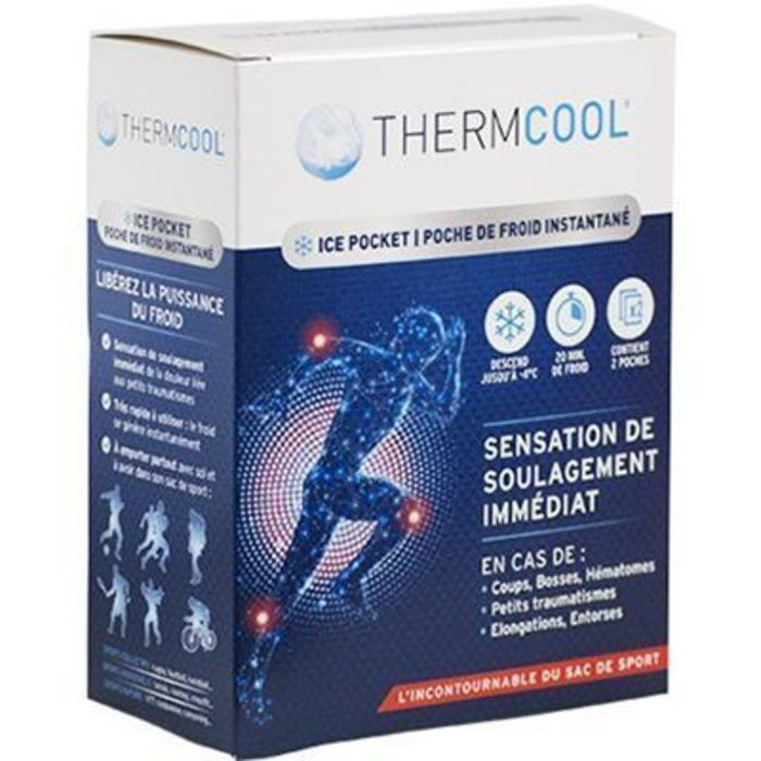 Thermcool poche de froid instantané x2 Therapearl-223395