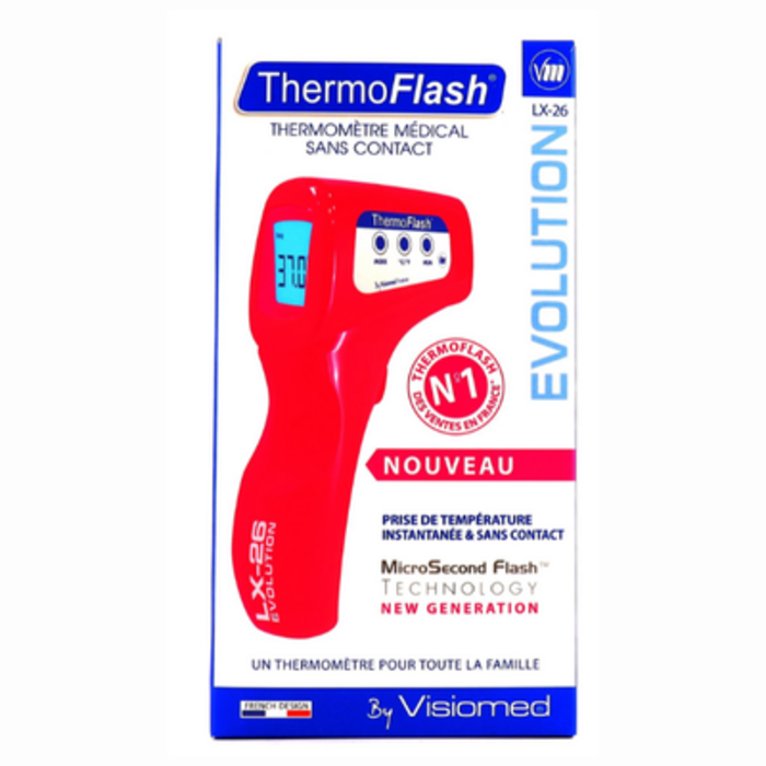Thermoflash lx-26 rouge Visiomed-144488