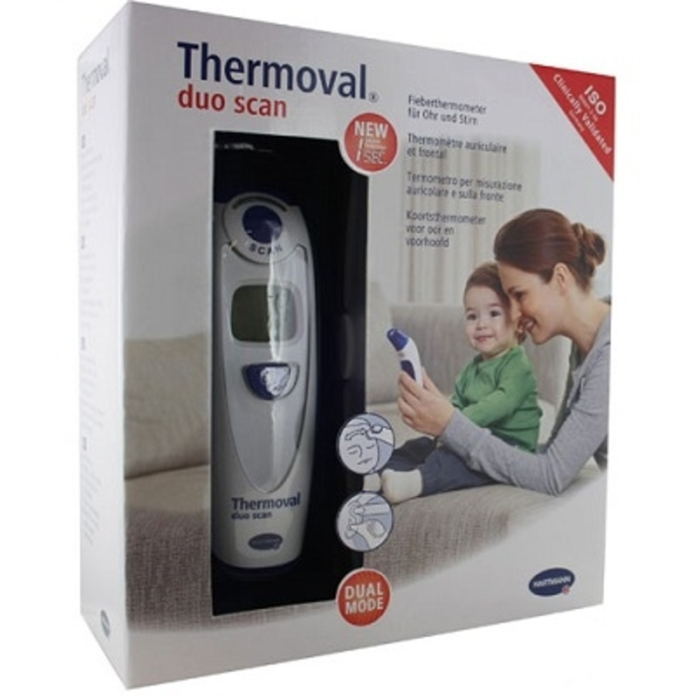 Thermomètre thermoval duo scan - hartmann -146379