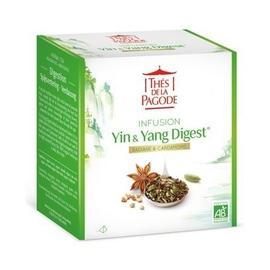 Thes de la pagode ying & yang digestion - 30 sachets - thés de la pagode -206526