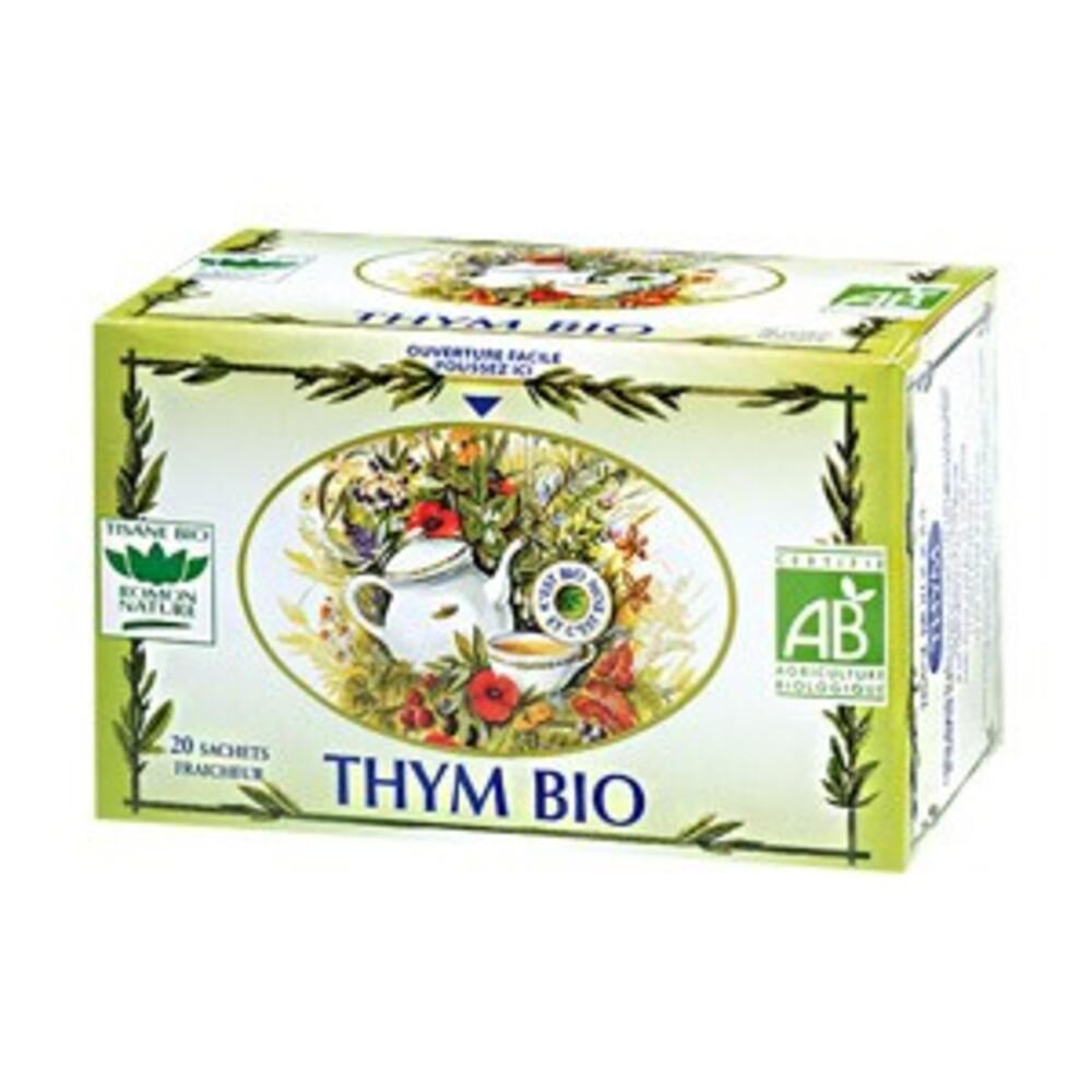 Thym - 20.0 unites - tisanes simples bio - romon nature -16200