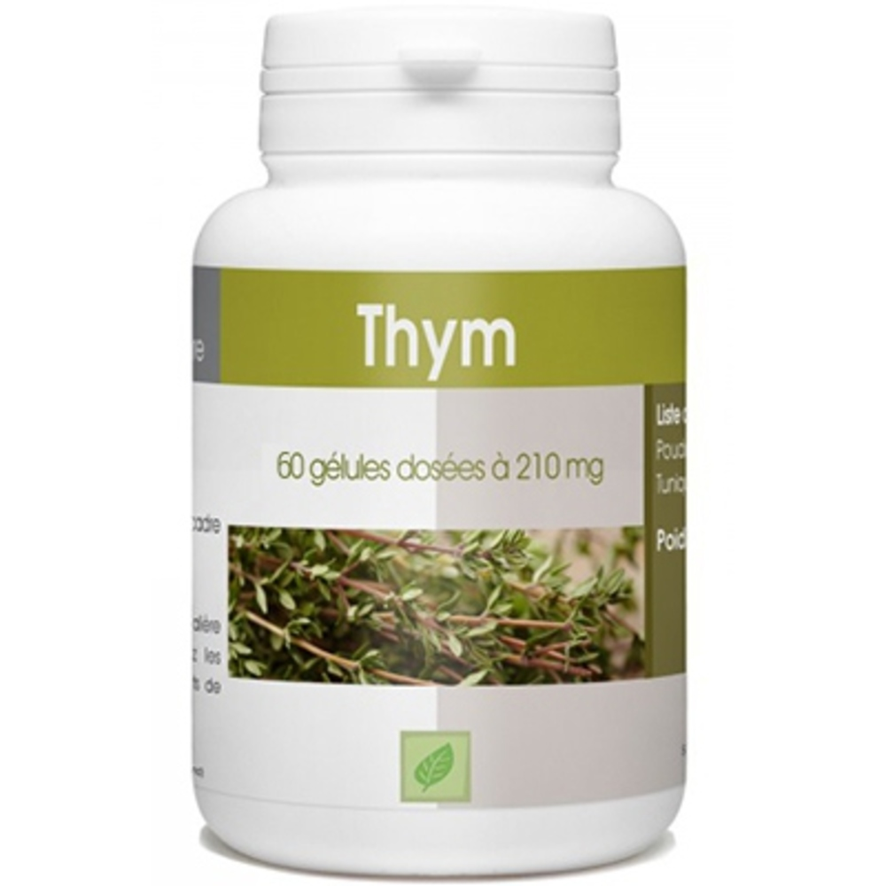Thym 210mg 60 gélules L'herbothicaire-212735