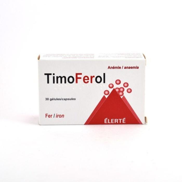 Timoferol - 30 gélules Laboratoire elerte-192223