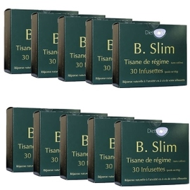 Tisane b-slim - lot de 10 - diet world -134956