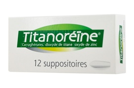 Titanoreine - 12 suppositoires - johnson & johnson -193087