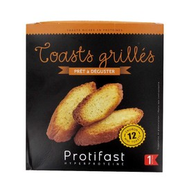 Toast grilles x12 - protifast -186844