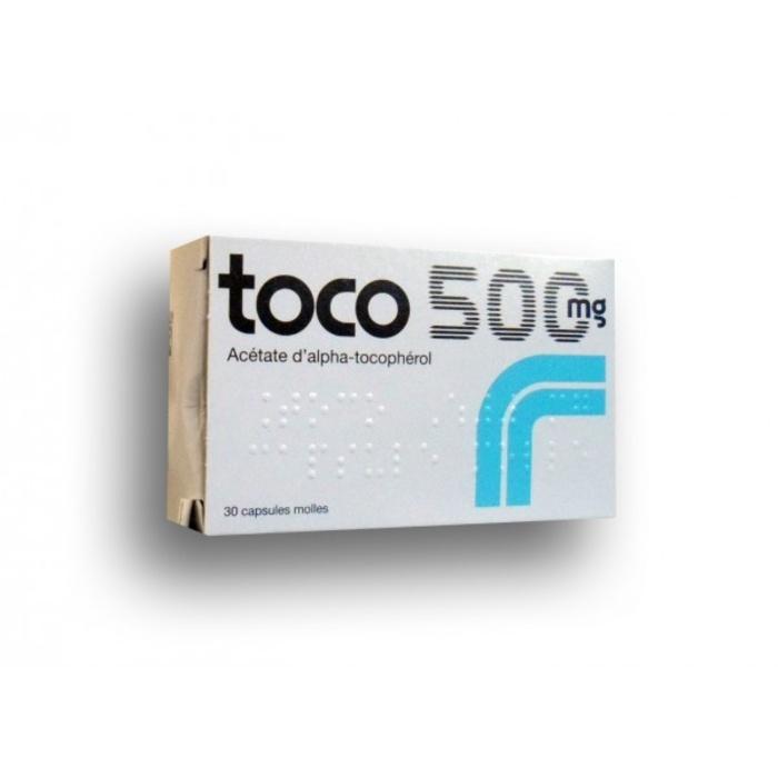 Toco 500mg - 30 capsules -192400