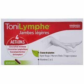 Tonilymphe jambes légères 60 gélules - tonipharm -223840