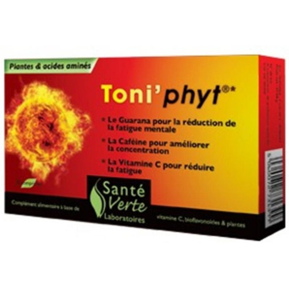 Toniphyt 30 comprimés - sante verte -197035