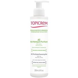Topicrem ac gel nettoyant purifiant - 200ml - topicrem -205192