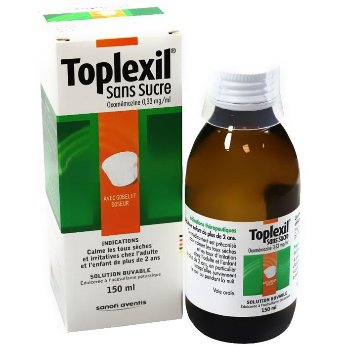 Toplexil sirop sans sucre Sanofi-192775